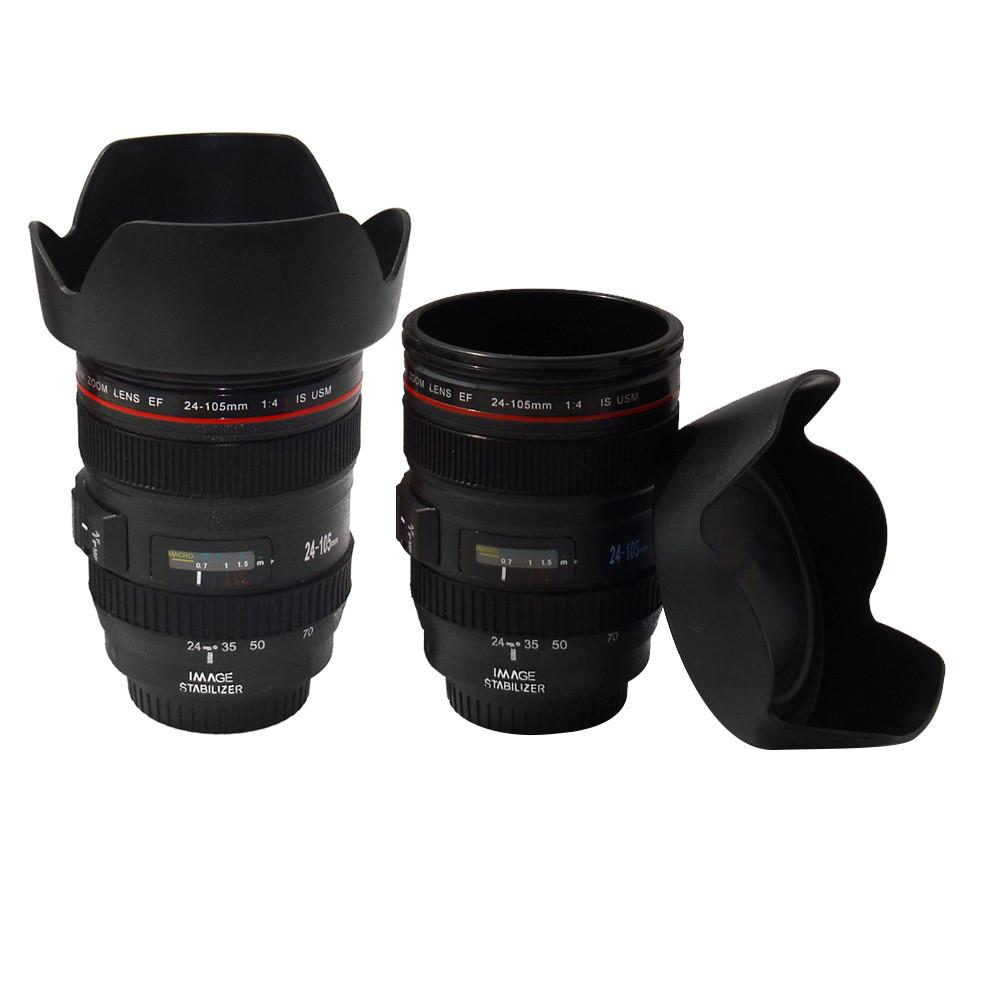 Free Shipping Hot Camera Lens Mug Mini Coffee Cup Cute Drink key chain(China (Mainland))