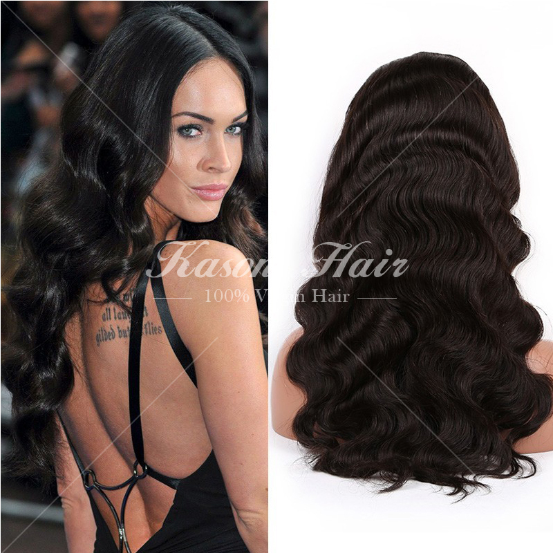 6A Brazilian Body Wave Human Hair Lace Front Wigs For Black Women ...