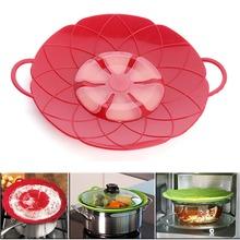 "Herramientas de cocina flor de silicona tapa derrame tapón silicona tapa de la cubierta para Pan 10.2 ""(China (Mainland))"