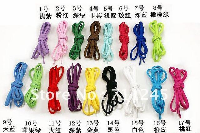 Free shiping!! fashion Flat Wide sports shoes lace/120*0.8cm/50pair/lot