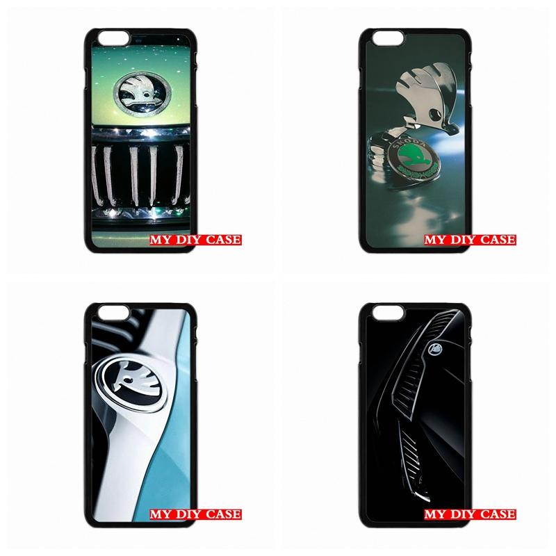 For iPhone SE 4 4S 5 5C 5S 6 6S Plus LG G3 G4 HTC One M7 M8 iPod 4 5 nice Skoda logo Phone Case Skin Cover(China (Mainland))