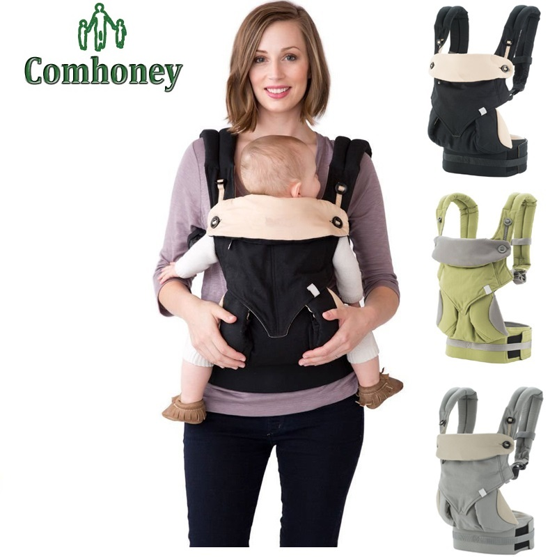 Гаджет  360 Baby Carrier Backpack New Four Position Cotton Infant Sling Wrap for Newborns Baby Kangaroo Carriage Toddler Suspenders None Детские товары
