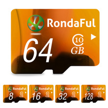Buy Rondaful Full Capacity 128GB Memory Card 8GB micro sd card 64GB TF card 32GB 16GB Class10 Microsd Card High Speed MP3 Phone for $7.39 in AliExpress store