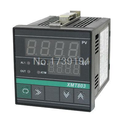 PV SV Display Alarm PID Digital Temperature Controller Meter XMT-803(China (Mainland))