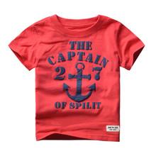 2016 brand children's clothing, boys clothes, boys T-shirt, 100% cotton T-shirt free shipping 24M-6T