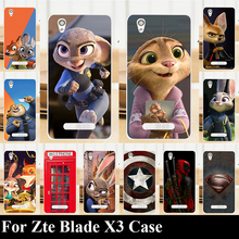 Buy Zte Blade X3 Case Hard Plastic Mobile Phone Cover DIY Color Paitn Cellphone Bag Shell Free for $1.28 in AliExpress store