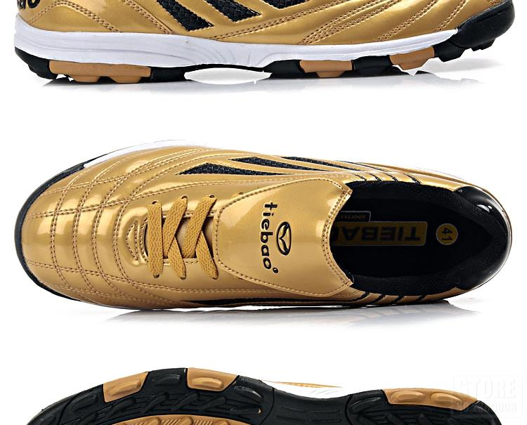 TIEBAO Professional Botas De Futbol Soccer Shoes Boys Sports Football Boots TF Turf Soles Soccer Cleats Training Sneakers Shoes