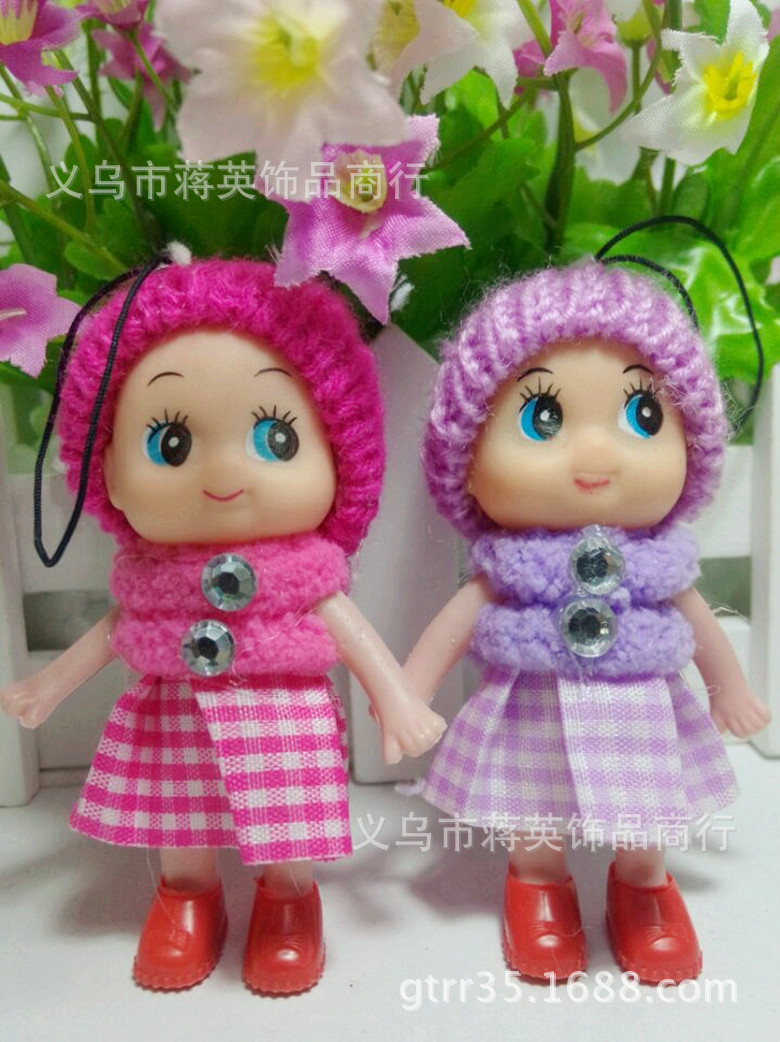 Гаджет  Gift Baby plush doll suffed toy min bag cell phone key chain  for kids dolls stuffed toys cadoll 1pcs/lots PT28 None Игрушки и Хобби