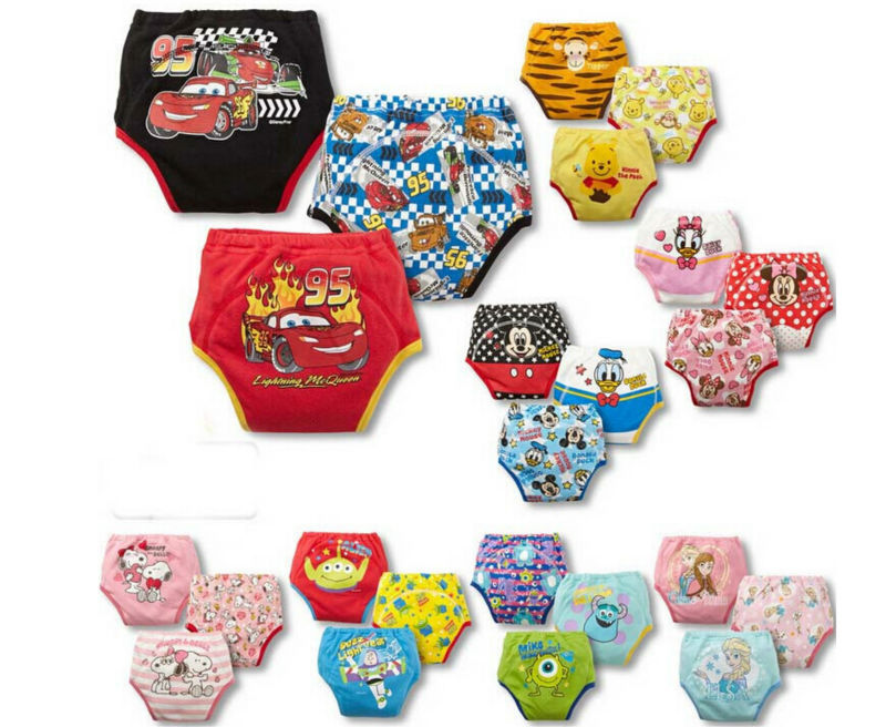 Cartoon waterproof Infant training pants underpants baby panties underwear diaper pant baby care product free shipping