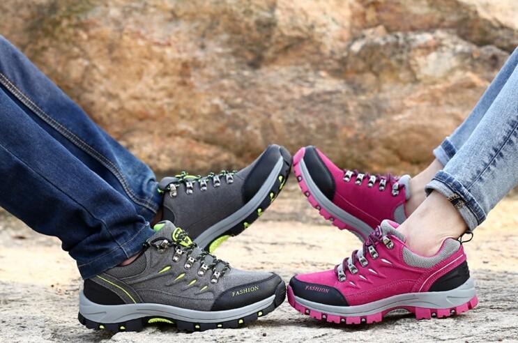 ซื้อ 2016ฤดูใบไม้ร่วงใหม่ผู้หญิงกลางแจ้งรองเท้าU Nisexผู้ชายผู้หญิงลูกไม้-upลื่นรองเท้าเดินสบายๆกันน้ำแพลตฟอร์มแฟลตXMR1164