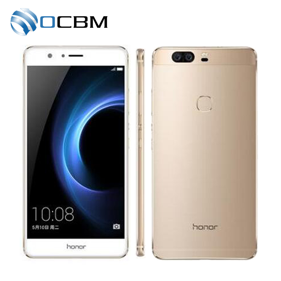 Original Huawei Honor V8 5.7 inch 1920*1080 Android 6.0 Kirin 950 Octa Core 4GB RAM 32GB ROM 12.0MP x 2 Camera 4G Mobile Phone(China (Mainland))