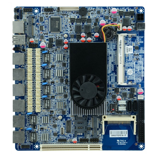 Small and medium size enterprise network security Intel Atom D525 firewall motherboard for 6 lan with Bypass(China (Mainland))