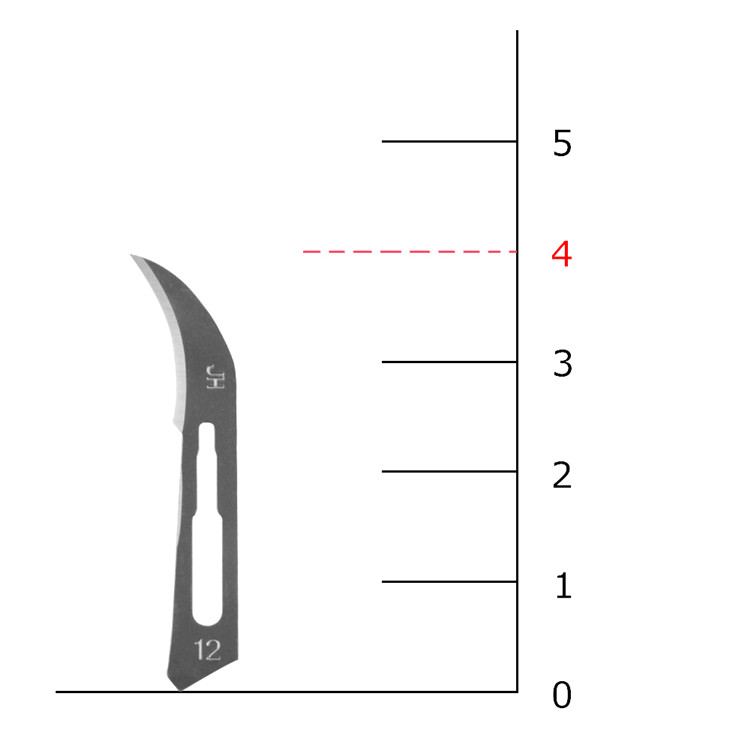Free Shipping 10 Pcs One lot 12#surgical Knive Blade Replacement Multi-function   Scrapbooking Crafts Carving Knife Tools