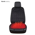 Karcle 12V Heating Car Seat Covers Car Covers Auto Cushion Accessories Warm Seat Heater Warmer Temperature