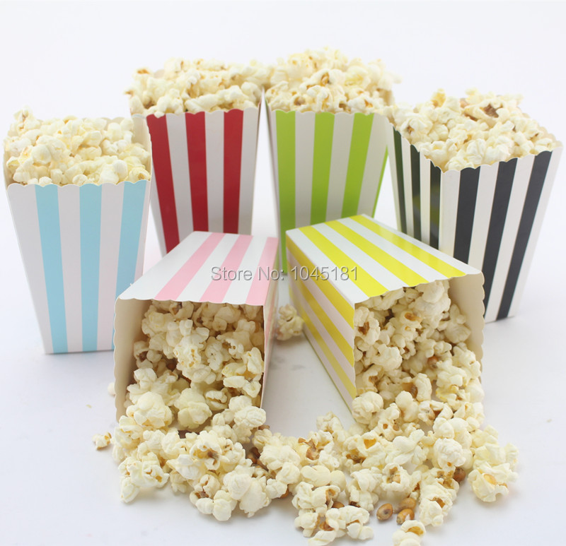 Wedding Gift Bag Snacks : Wedding Favor Popcorn Bags Mini Dot Chevron Striped Food Candy Snack ...