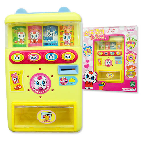 Simulation of Children's Toys can Talking Vending drink Machine toy 3C 2-5 years old Kids toy(China (Mainland))