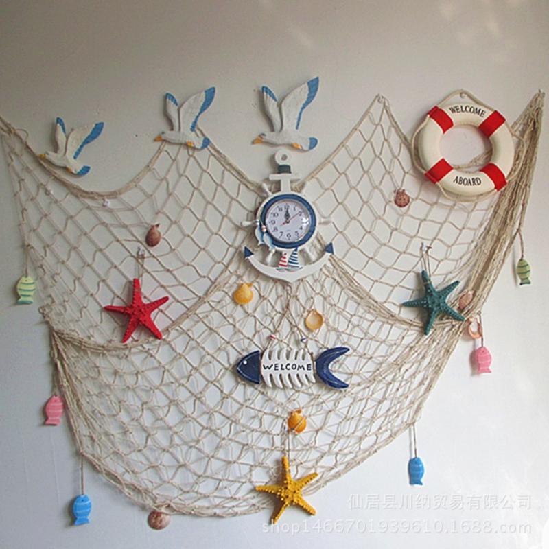 Promoci n de decorativo red de pesca compra decorativo - Redes de pesca decorativas ...