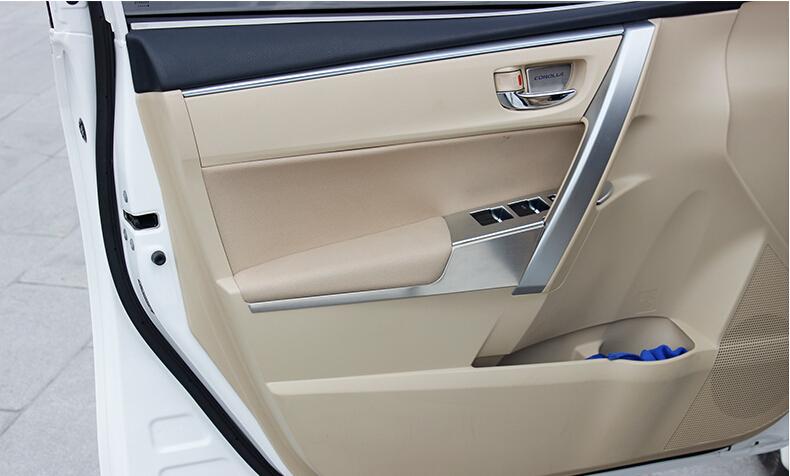Buy Auto Interior Accessories Car Inner Window Lifter Button Trim Sticker For