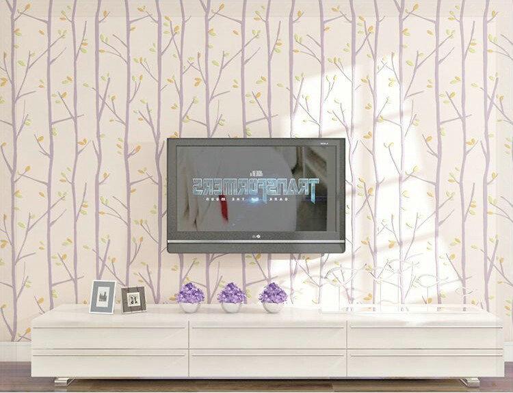3d-behang-voor-muren-voor-kid-slaapkamer-boom-blad-ontwerp-massaal ...
