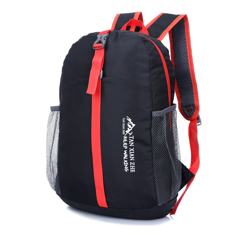 2016 New arrival outdoor sports bags Hiking backpacks Daily Traveling Backpacks Folding bags 6 colors available(China (Mainland))