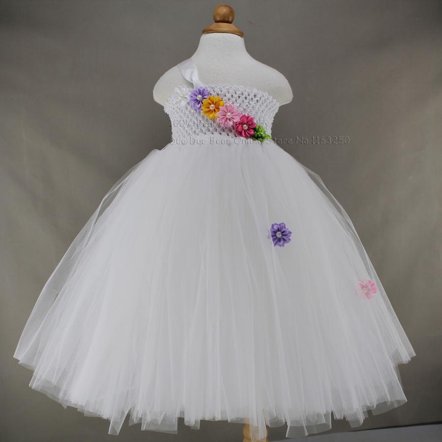 2016 High Grade White Baby Dress Wedding Flower Girl