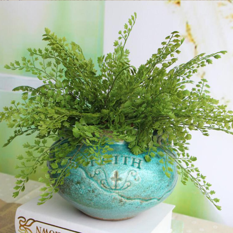 1Pcs New Ginkgo Leaves Wedding Party Festival Decorative Floral Artificial Plants Leaf Silk Flower Home Decoration 0103(China (Mainland))