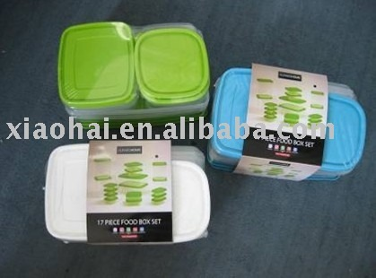 34PCS food container