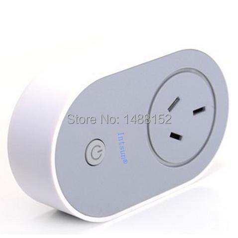 Wireless Wifi Smart Switch Plug Android Smartphone Remote Control Socket Smart Plug Free Shipping(China (Mainland))