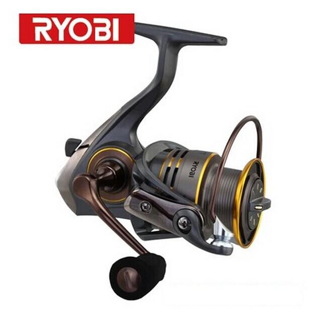 Ryobi fishing reel slam1000 6000 spinning reel full metal for Ryobi fishing reel
