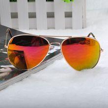 14 Color Sun Glasses Metal Frame Eyewear Glasses Bat Mirror UV Summer Style Sunglasses Women Men