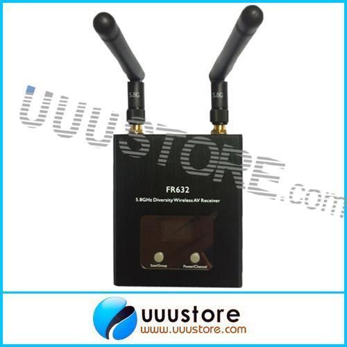Здесь можно купить  Boscam FR632 Diversity 5.8GHz 32CH Auto Scan LCD A/V Receiver Free Shipping   Игрушки и Хобби