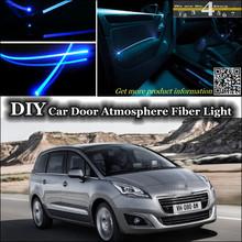 interior Ambient Light Tuning Atmosphere Fiber Optic Band Lights Peugeot 5008 Inside Door Panel illumination (Not EL light) - TopGear Shop store