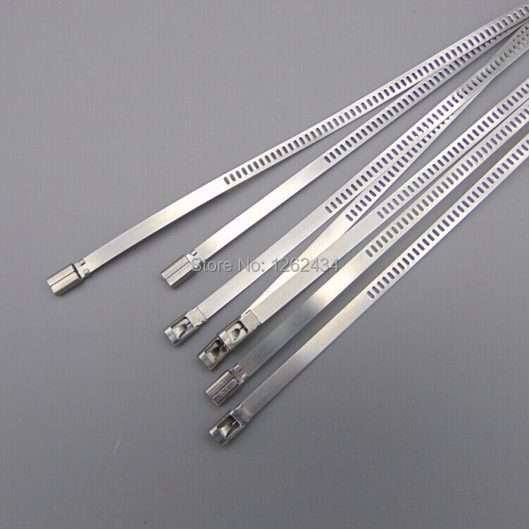 100pcs 4.6*1300 STAINLESS STEEL CABLE TIES stainless steel tie bar  4.6*1300mm<br><br>Aliexpress