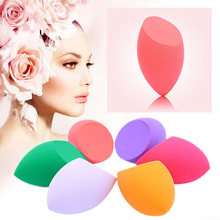 Beauty Makeup Sponge Blender Shaped Water Droplets Powder Puff With Latexand and Non-latex G#J6(China (Mainland))