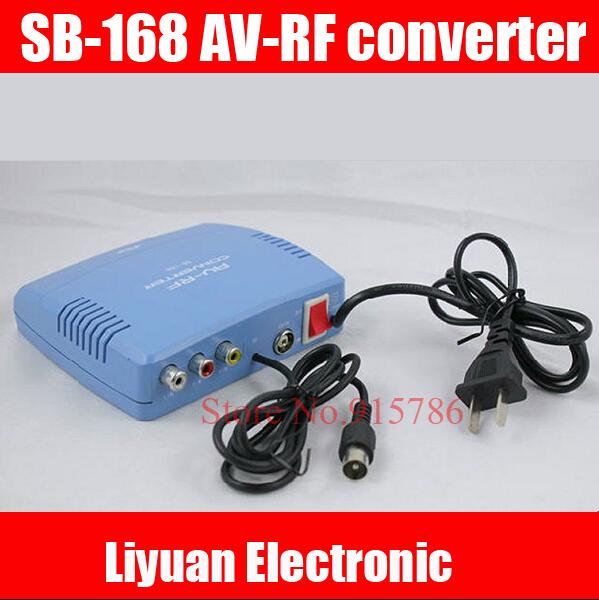 SB-168 AV-RF converter / 6-12CH AV switch RF modulator / set-top box modulator(China (Mainland))