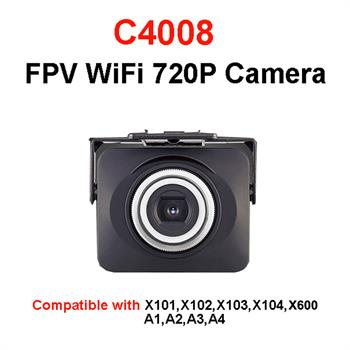 MJX C4008 720P FPV Real Time Aerial Wifi Camera for X101/X102/X103/X104/X600/A1/A2/A3/A4 RC Quadcopter  Drone  17.4x7.2x16.4cm<br><br>Aliexpress