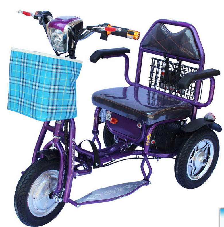Tj xz 02 electric tricycle tricycle for the disabled for Motorized scooters for the elderly