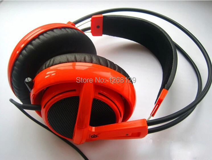 Hot Share V2 Oem Earphone Get A Cable Headphone Gaming Headset Siberia Natus for Vincere Edition Headphones Gamer free Shipping(China (Mainland))