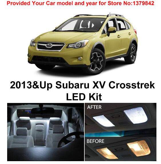 Buy Free Shipping 6pcs Lot Xenon White Premium Package Kit Led Interior Lights