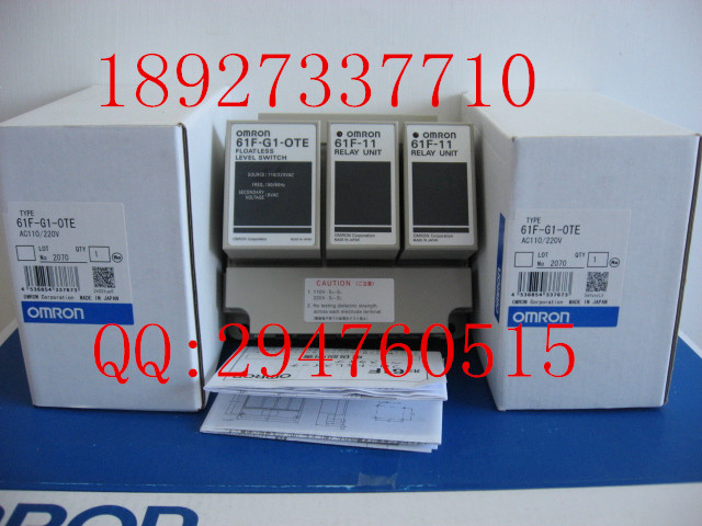 [ZOB] Supply of new original omron Omron level switch 61F-G1-OTE AC220V(China (Mainland))
