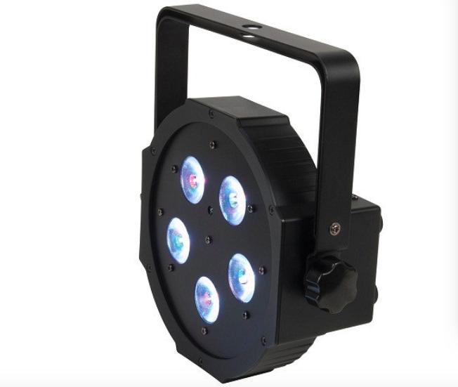 10pcs/lot, RGB LED Par 5x3W RGB 3in1 Flat par36 DJ bar led light dmx stage entertainment lighting equipment(China (Mainland))