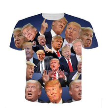 Buy Donald Trump 3D T-Shirt Casual Streetwear Mens T Shirts 2017 Donald Trump Fitness Jersey T Shirt Tops Tees Camisetas Masculinas for $9.99 in AliExpress store