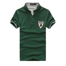 Famous Brand Polo Men Shirt Short Sleeve Designer V neck Shirts Top Wear Outdoor Sportswear Fashion Clothing Men 2016 Hot Sale