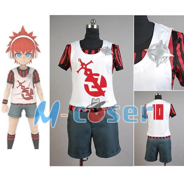 Zettai Zetsubo Shojo: Danganronpa Another Episode Masaru Daimon Men Outfit Vest Shirt For Football Cosplay Costume(China (Mainland))