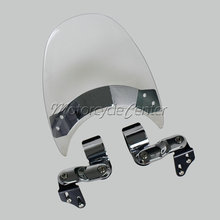Buy Wind Deflectors Windshield Windscreen For 85-14 Honda Rebel 250 CMX250C CMX 250C 450 CMX450C Shadow 1100 VT1100C VT 1100C Clear for $54.99 in AliExpress store