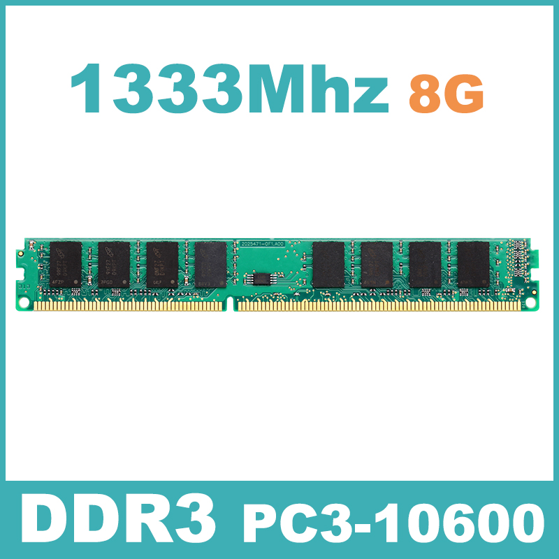 DDR3 PC3-10600 1333Mzh 8GB KVR1333D3N9/8G Memory Ram Memoria for Desktop PC Free Shipping Lifetime Warranty Support Intel&AMD(China (Mainland))