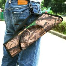 Camouflage Bow and Arrow Quiver Bag Simple Archery Hunting Water Resistant Quiver Holder Caza Arrows Bow