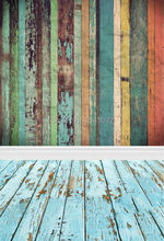 Customize Wood Photography Backdrop Digital Printing Vinyl Cloth Background n700-1