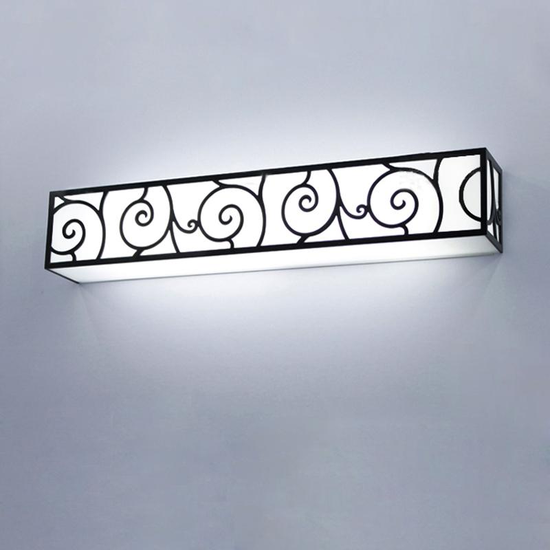 Baño Rustico Moderno:Aliexpresscom: Comprar Breve moderno rústico espejo del baño de luz