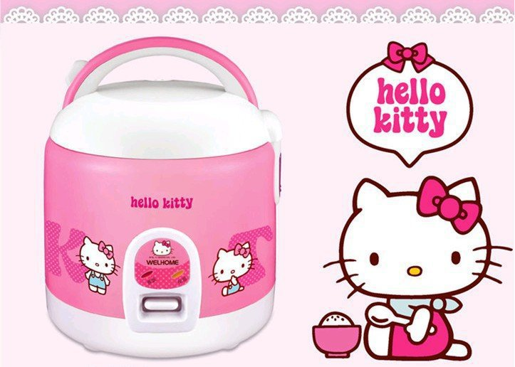 Hello Kitty Rice Cooker Rm2 35a Electric Rice Cooker Alloy